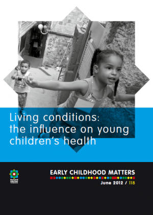 Publication ECM118 Living conditions: The influence on young children's health