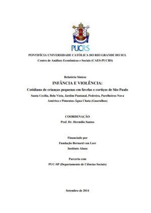 Infancia e violencia_sao paulo_bernard van leer foundation