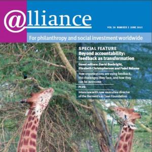 Michael Feigelson interviewed in Alliance Magazine