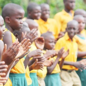 Students at Kabembe Primary School in Uganda. Photo by: Henry Bongyereirwe / Global Partnership for Education / CC BY-NC-ND
