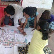 Children present their slum redevelopment plans to Bhubaneswar Development Authority - Bernard van Leer Foundation