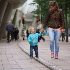 Why Walking Is So Good for Parents, Toddlers, and the Cities Where They Live - Blog- Michael Feigelson