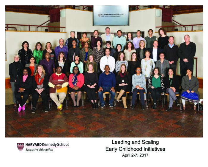 harvard preschool project harvard executive programme on scaling early childhood 565