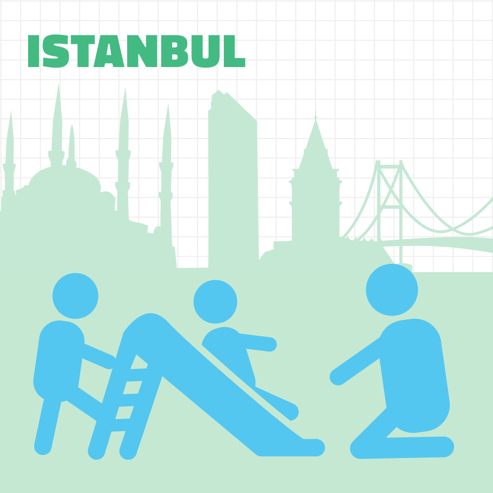 Urban95 city Istanbul - Bernard van Leer Foundation