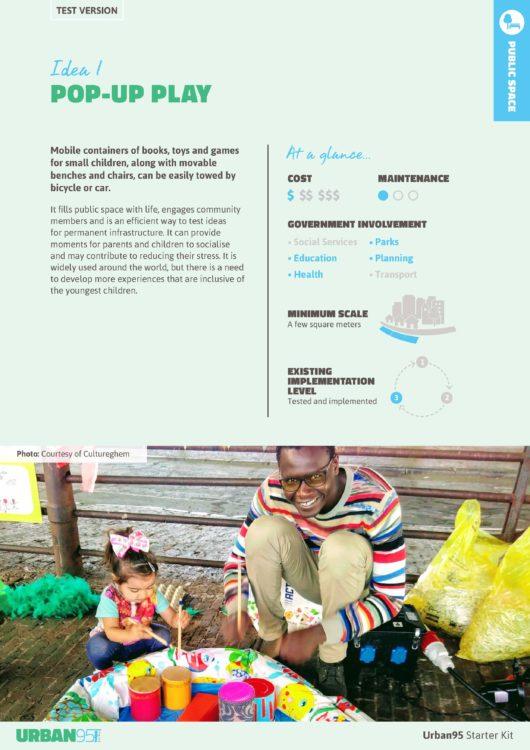 Urban95 individual idea PDF's - Bernard van Leer Foundation