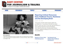 Presentations and resources from Dart journalism course now online - Bernard van Leer Foundation