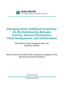 Emerging Early Childhood Inequality: On the Relationship Between Poverty, Sensory Stimulation, Child Development, and Achievement - Bernard van Leer Foundation